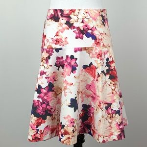Lane Bryant skirt size 20 multicolored floral